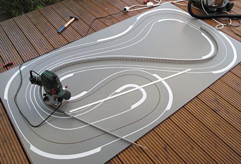 slot holzbahn bauen
